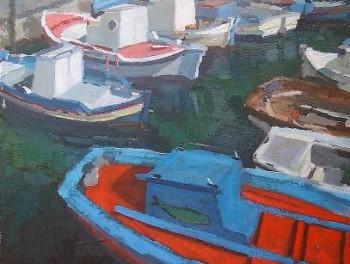 Boats, Santorini