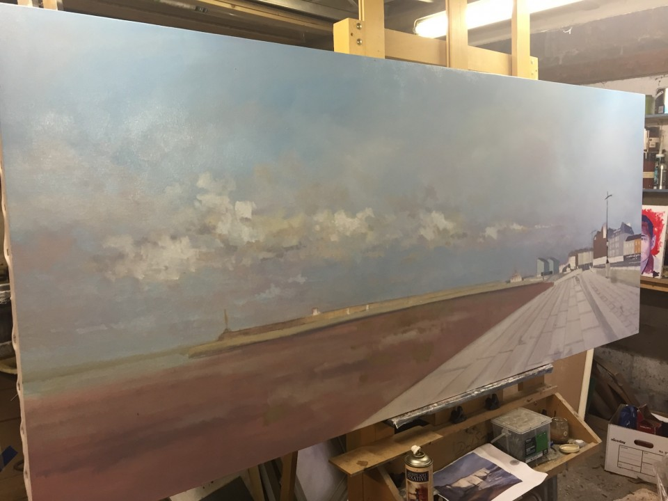 Margate Harbour - in progress