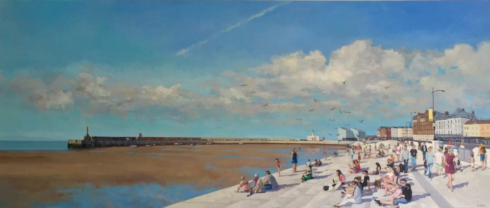 Margate Harbour Steps 210cm x 90cm