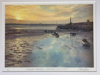 Margate Harbour – Christmas Eve 2015