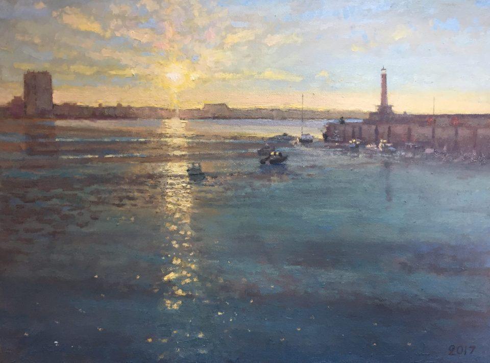 Margate Harbour – Streaming Light II