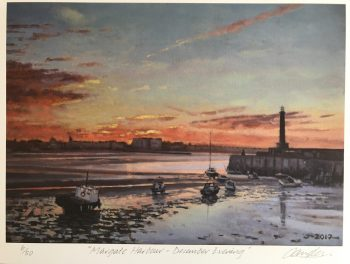Margate Harbour – December Evening