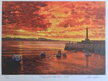 Margate Harbour – Red
