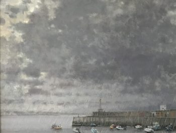 Margate Harbour – January Rain
